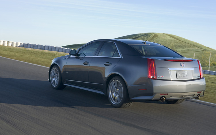 2009 cadillac cts v first look motor trend. Black Bedroom Furniture Sets. Home Design Ideas