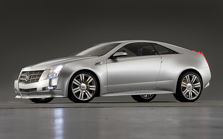 First Look Cadillac Cts Coupe Concept Motor Trend