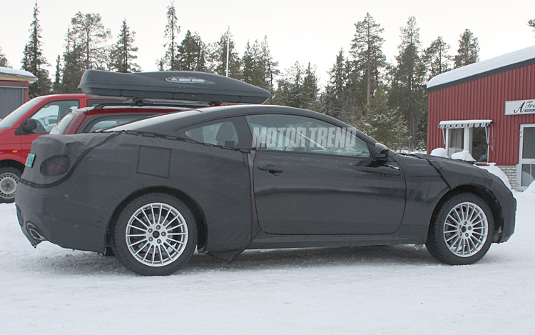 2009 Hyundai Genesis Coupe Spied Vehicles Motor Trend