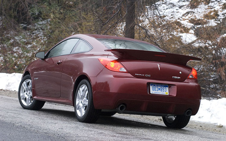 First Drive 2008 Pontiac G6 Gxp Coupe Motortrend