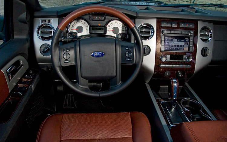 interior pictures of 2008 ford expedition