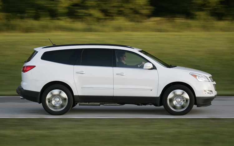 First Drive 2009 Chevrolet Traverse Motor Trend