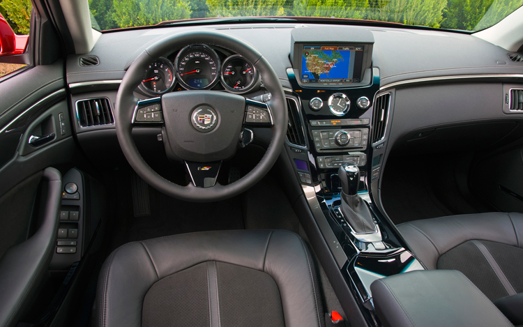 2009 cadillac cts v first test motor trend - Cadillac cts interior accessories ...