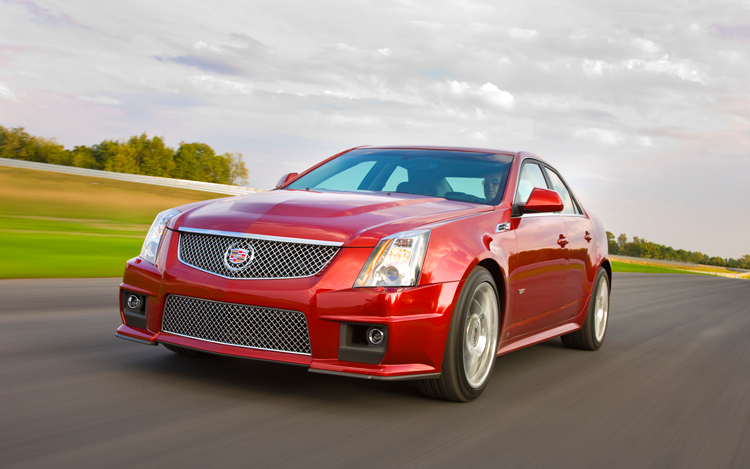 2009 cadillac cts v photo gallery motor trend. Black Bedroom Furniture Sets. Home Design Ideas