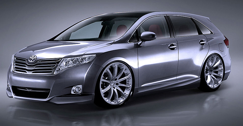 2009 Toyota Venza Set To Hit Sema In Mild And Wild Forms Motor Trend
