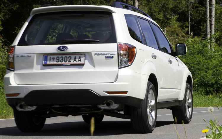 First Drive: 2010 Subaru Forester 2.0D - Motor Trend