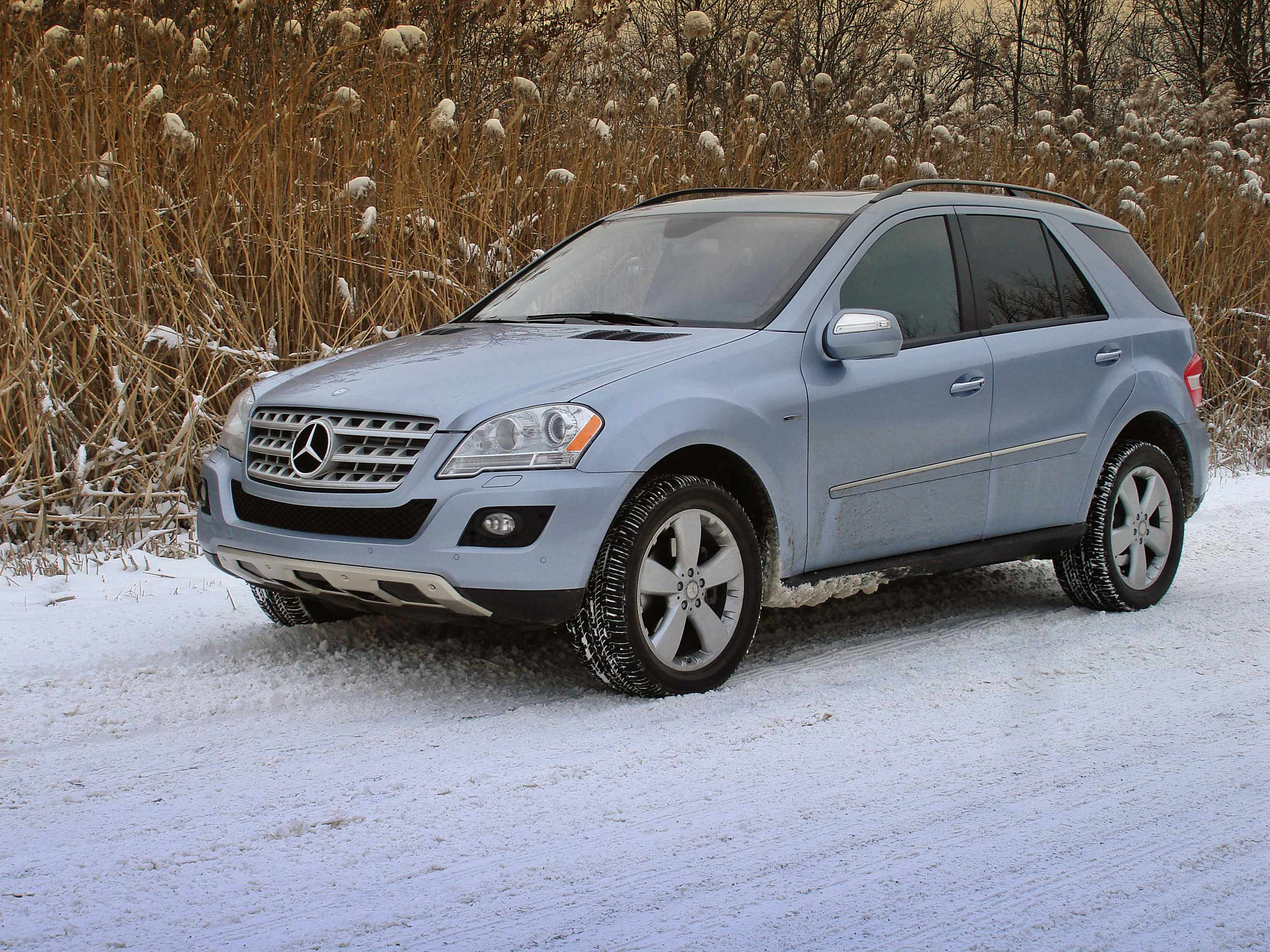 Holiday On Ice: Two Weeks in the 2009 Mercedes Benz ML320 BlueTEC ...