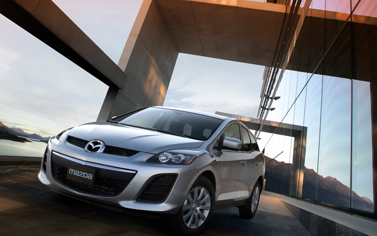 2010 mazda cx-7 snubs chicago for canada, offered with new engine