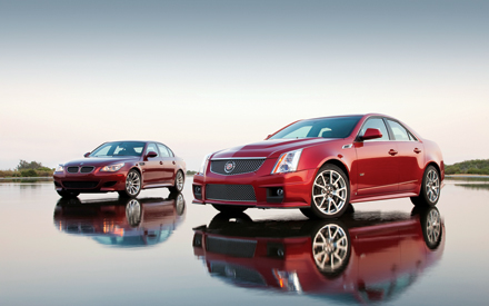 2009 Bmw M5 Vs 2009 Cadillac Cts V Wallpaper Motor Trend
