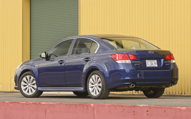 2010 Subaru Legacy First Drive And Review Motor Trend