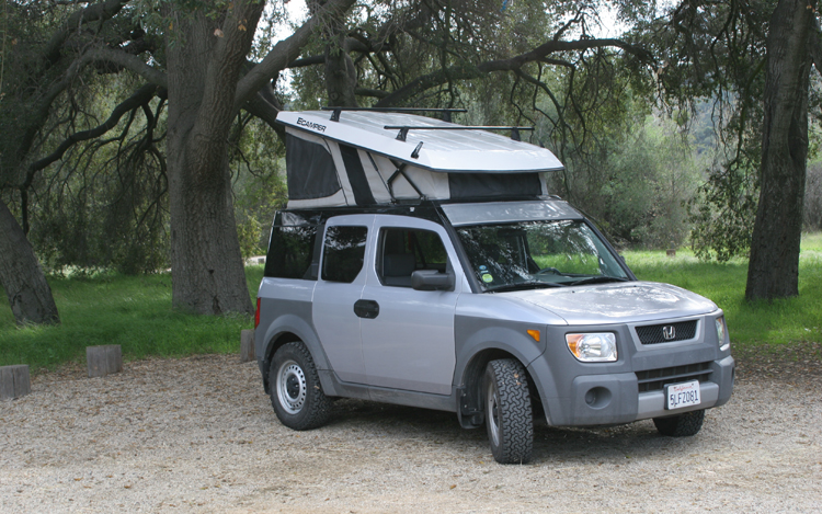 Honda Element Ecamper Feature Motor Trend