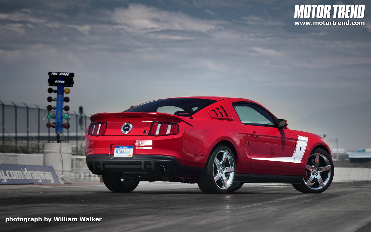2010 roush 427r ford mustang wallpaper photos motor trend. Black Bedroom Furniture Sets. Home Design Ideas