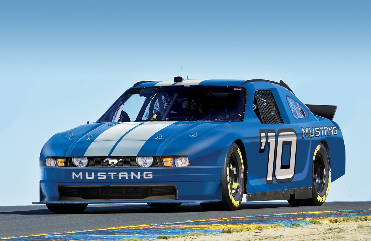 Ford mustang to enter nascar series for first time in history