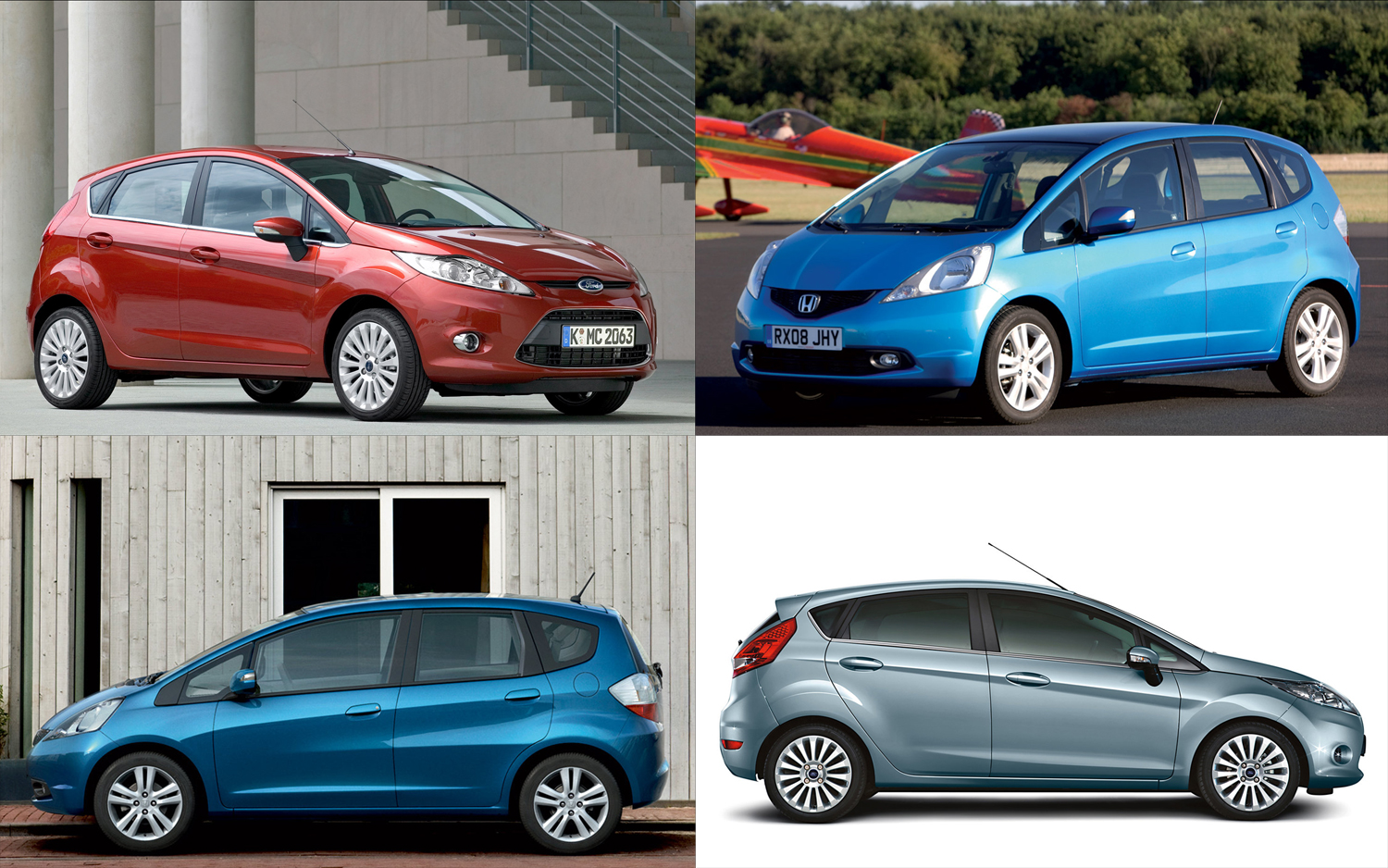 Thread Of The Day: Honda Fit Vs. Ford Fiesta