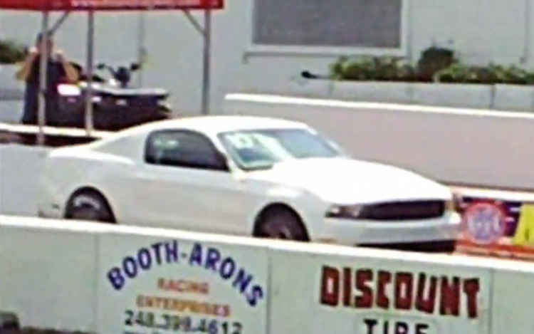 Video Find 2010 Ford Mustang Cobra Jet Caught Testing At The Drag