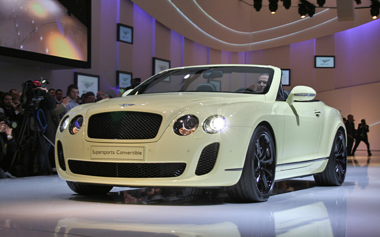 2011 Bentley Continental Supersports Convertible Motor Trend