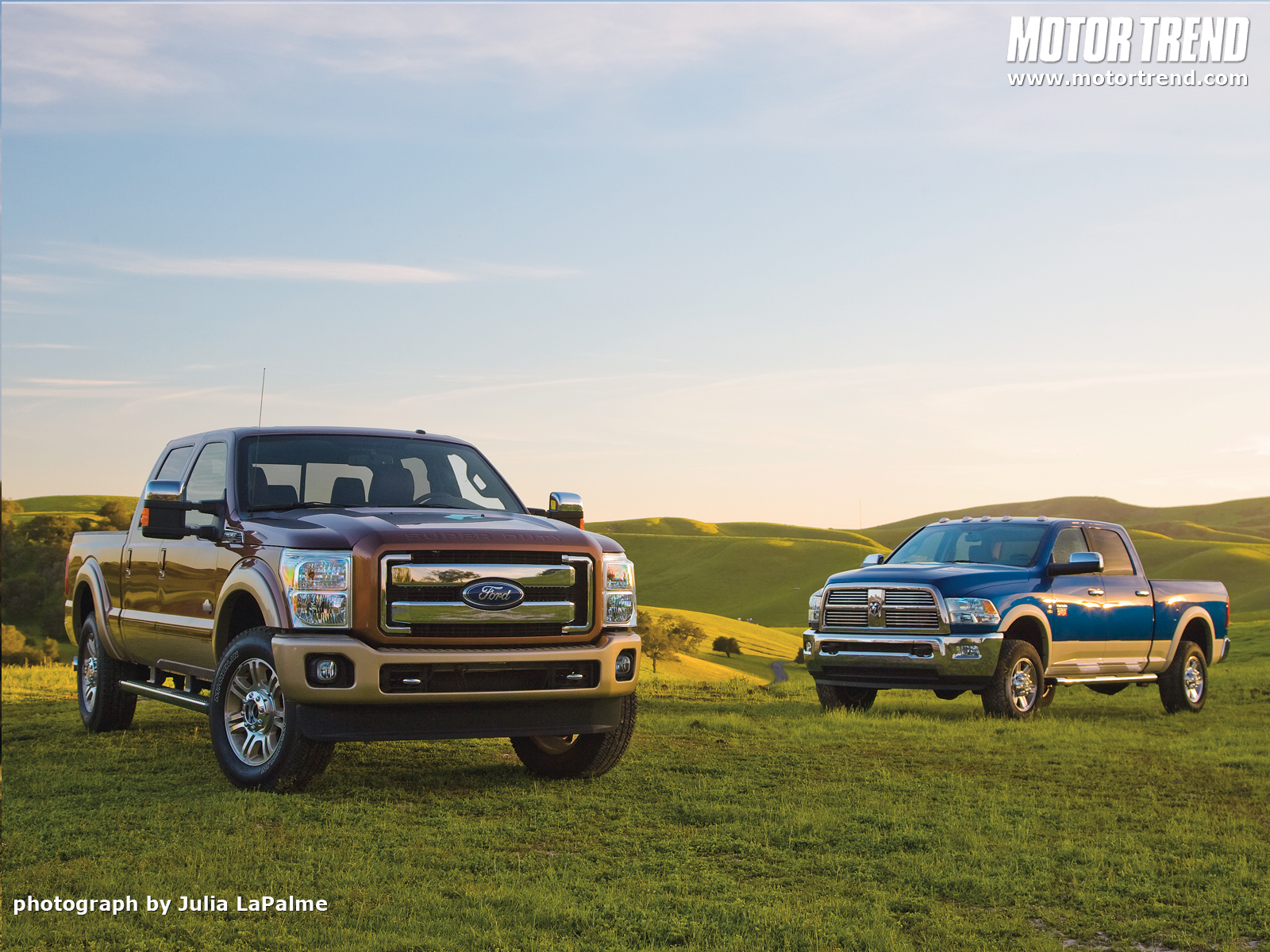 2011 Ford F-250 Super Duty and 2010 Ram 2500 Heavy Duty Wallpaper Gallery