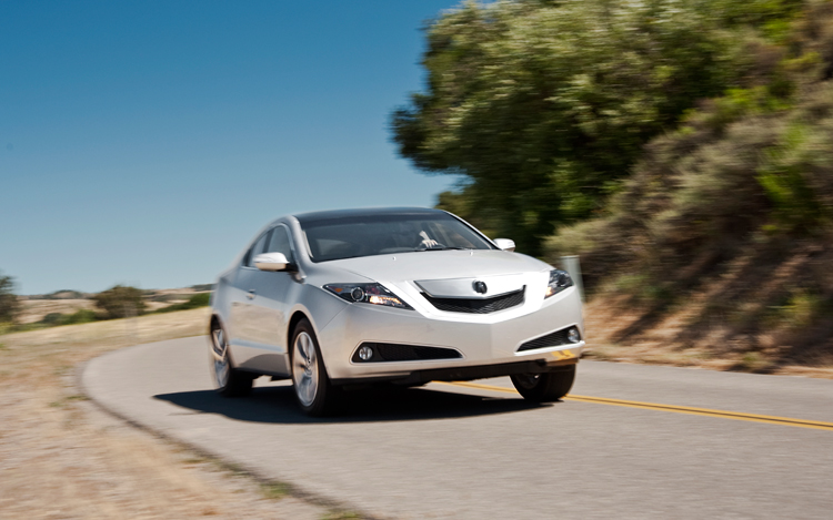 Arrival Acura ZDX Motor Trend - Acura crossover zdx