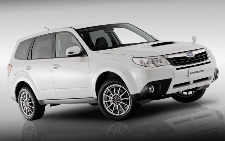 Rally Style Subaru Builds Wrx Like Forester S Edition Concept