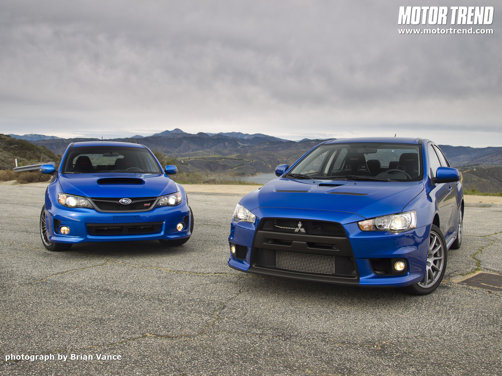 2011 Subaru Wrx Sti And 2010 Mitsubishi Lancer Evolution X Special