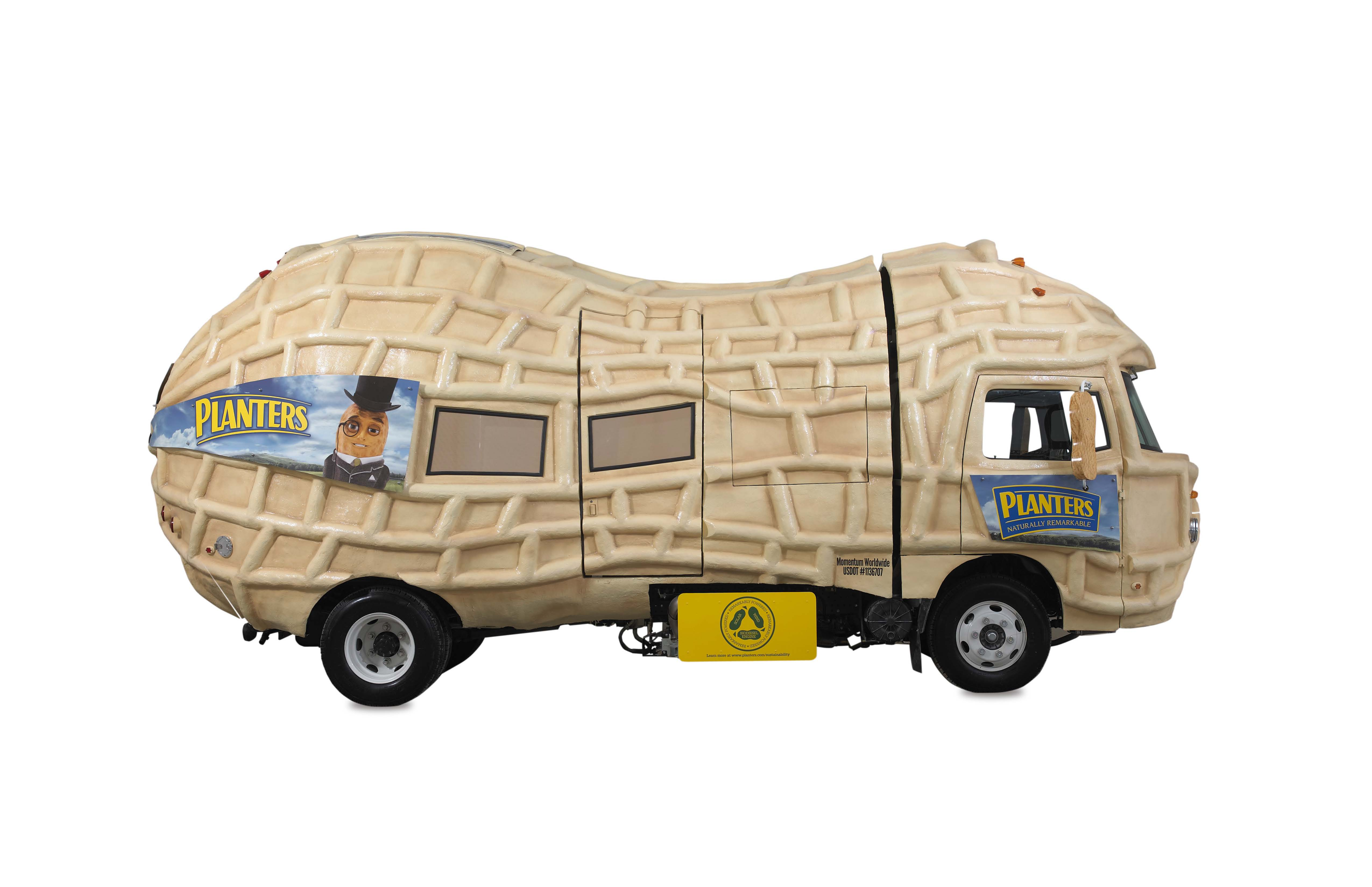 planters nutmobile is peanut shaped eco friendly motor trend