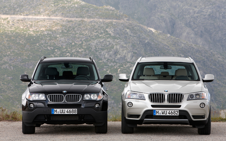 Mt Then And Now 2005 2007 2011 Bmw X3 Motortrend