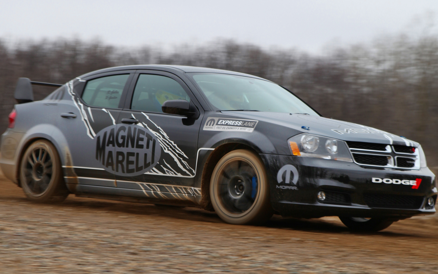 All American Rally Car Dodge Shows Off Avenger Rally Car With