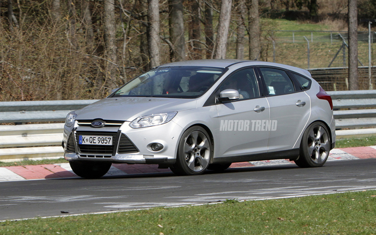 Spied 2012 Ford Focus St Track And Winter Testing Motor Trend