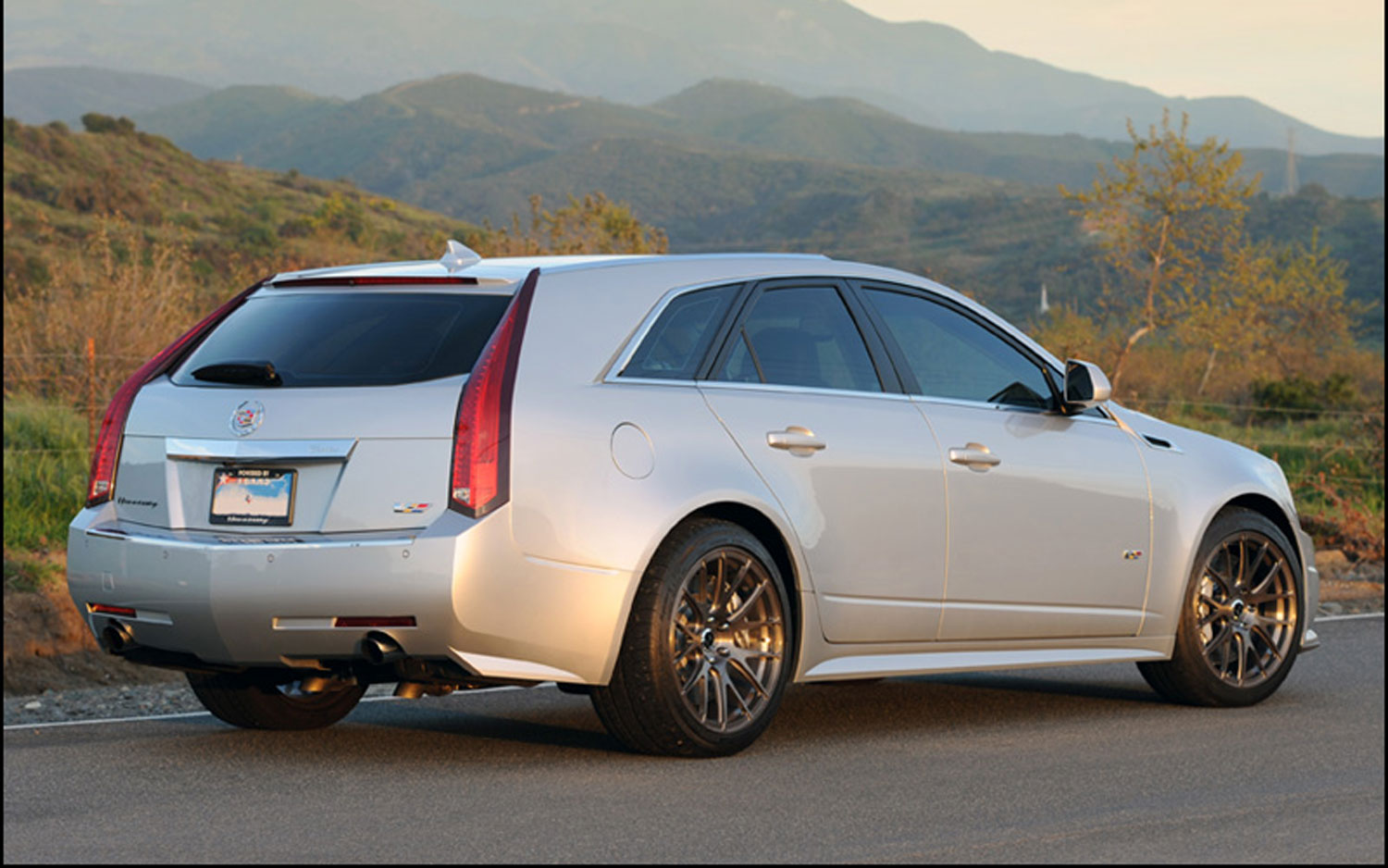 Video Find Hennessey Cadillac Cts V Wagon Volume Goes To 11 Motor