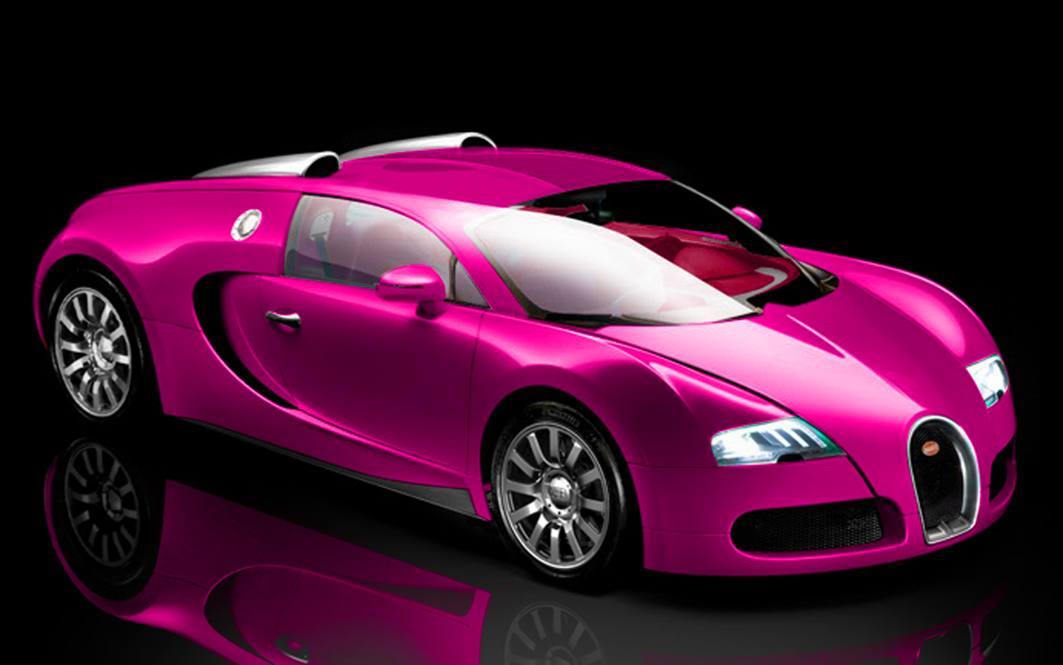 Not Pretty British Tv Star Painting Bugatti Veyron Pink Motor Trend