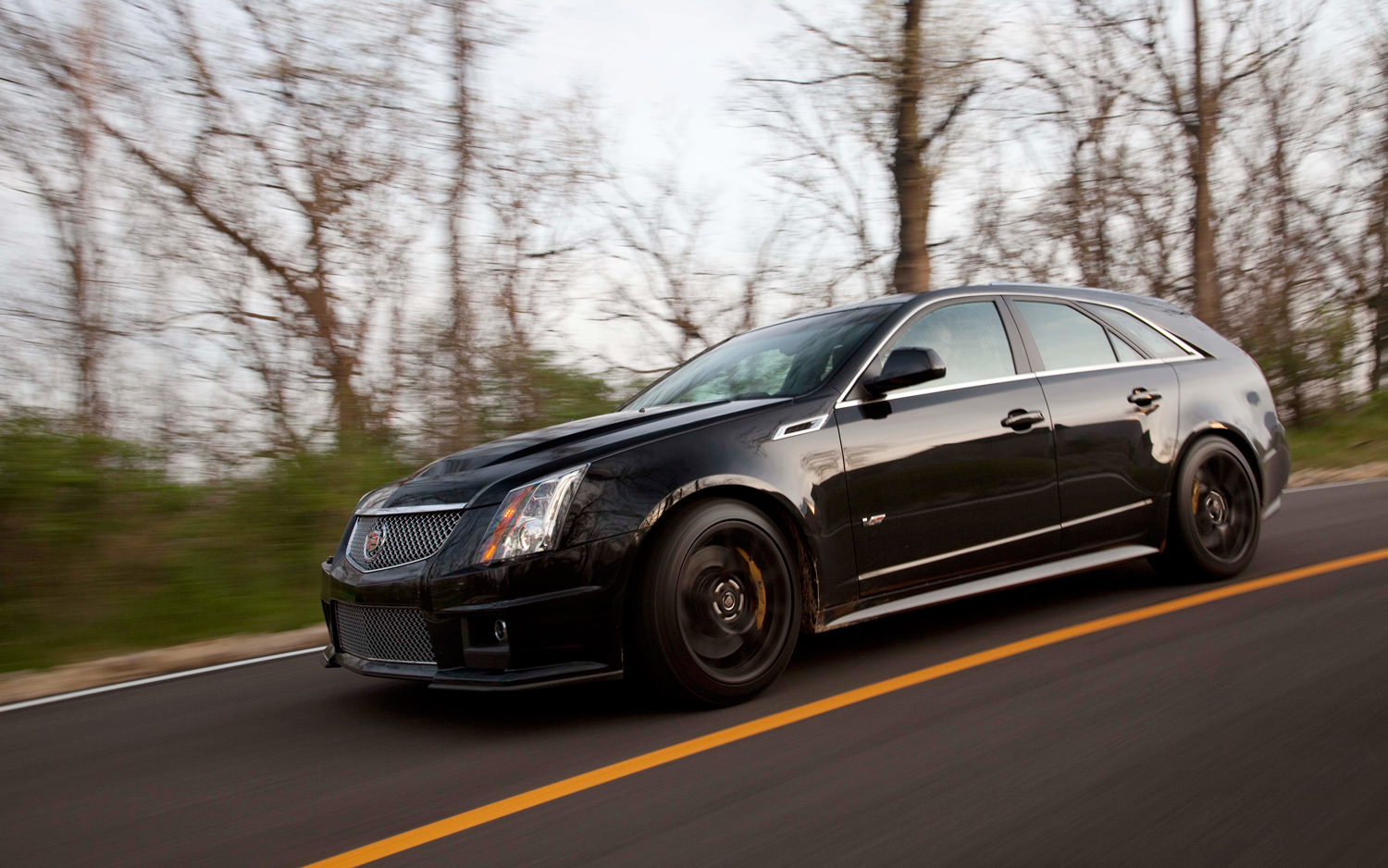 Arrival 2011 Cadillac Cts V Sport Wagon Motor Trend