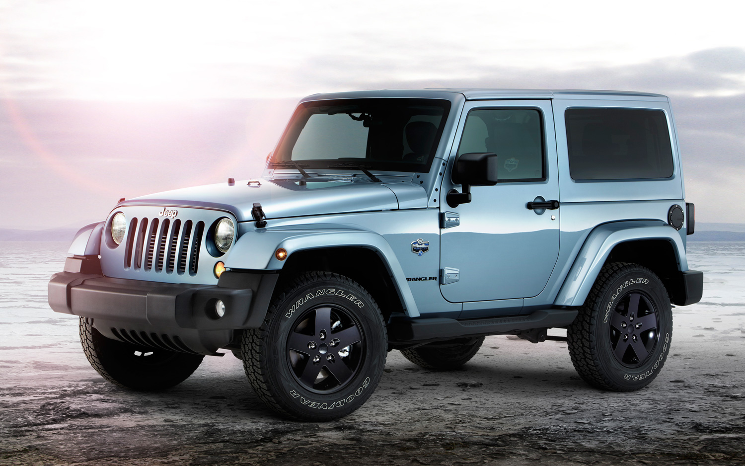 on the rocks: 2012 jeep wrangler arctic edition for europe - motortrend