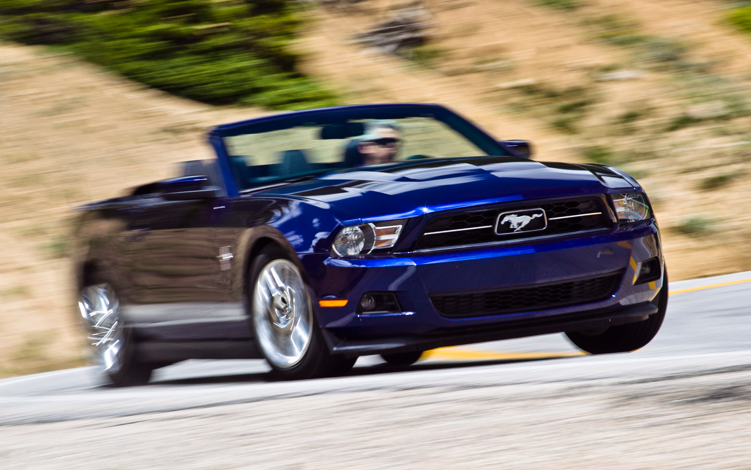 First test 2012 ford mustang v 6 convertible motor trend