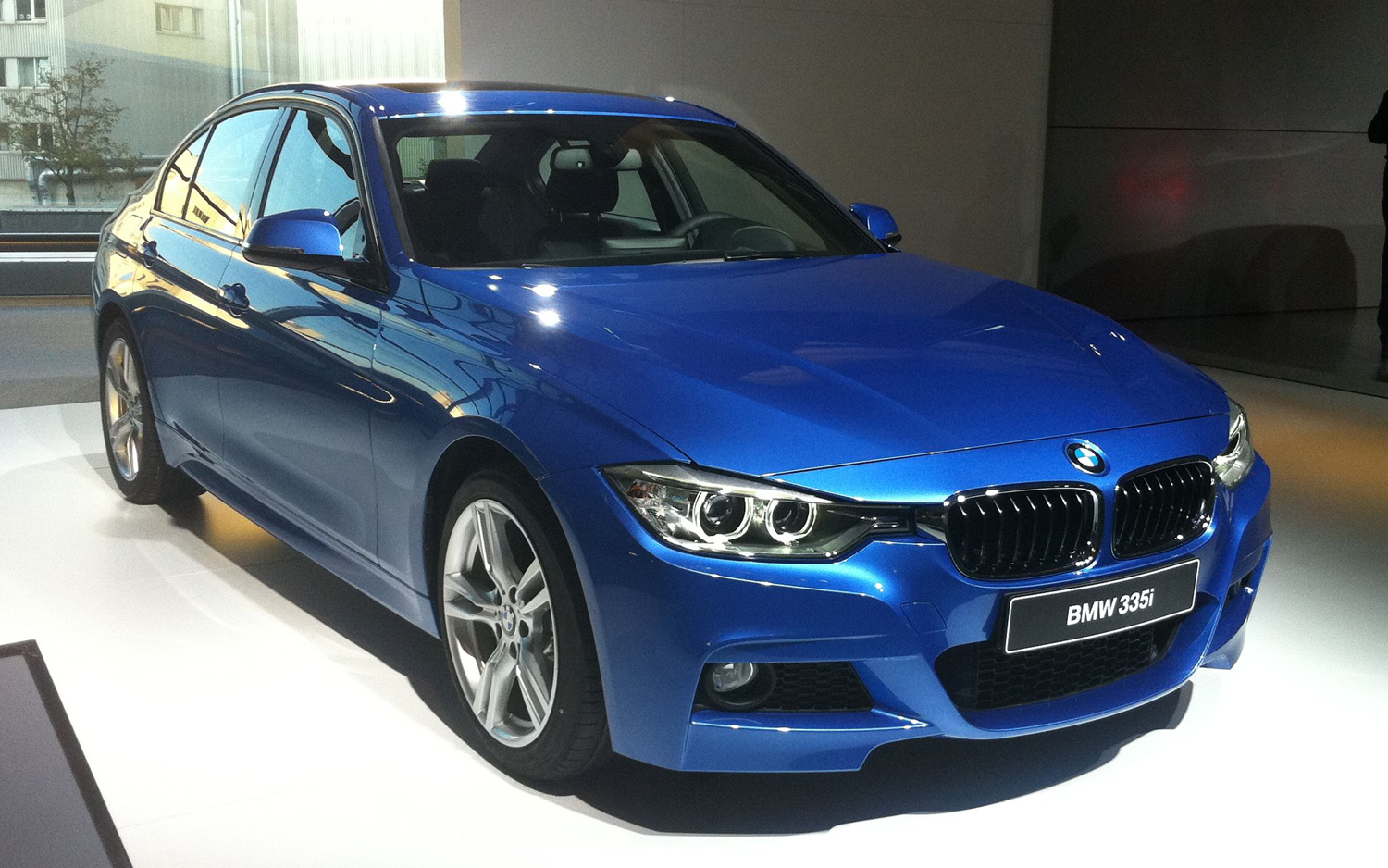 Live From Munich 2012 BMW 3 Series First Impressions
