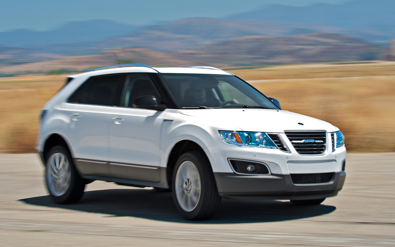 Wonderful 2012 Sport/Utility Of The Year Contender: Saab 9 4x