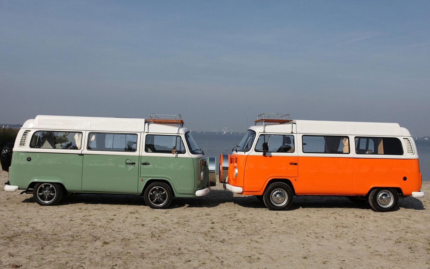 66652fb91a1 Retro Bus: VW Selling New Old Microbus Camper in the Netherlands ...