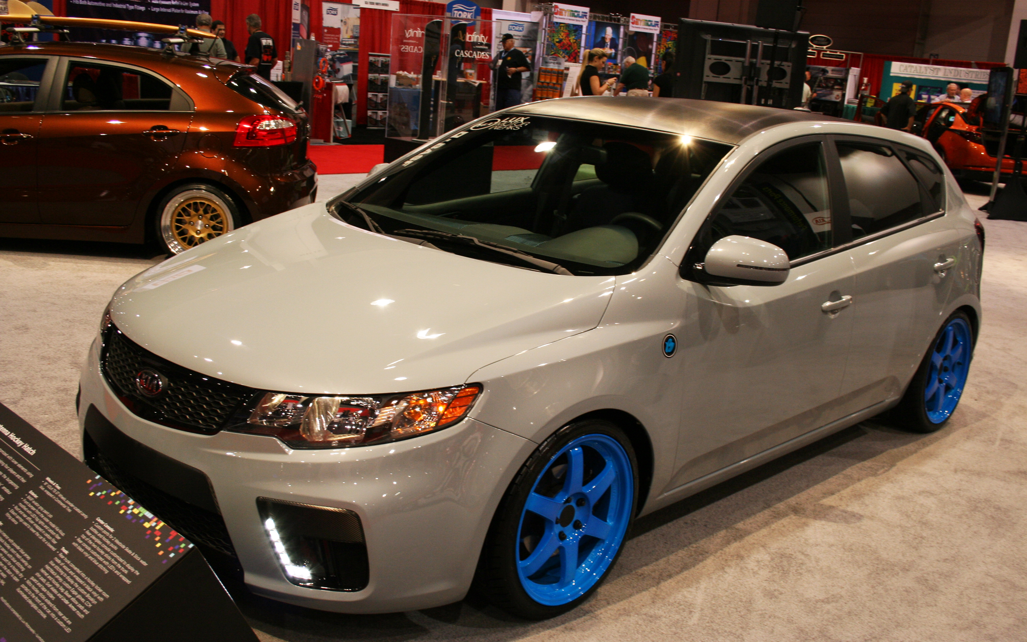 2011 SEMA: Hyundai And Kiau0027s Top Five Coolest Cars