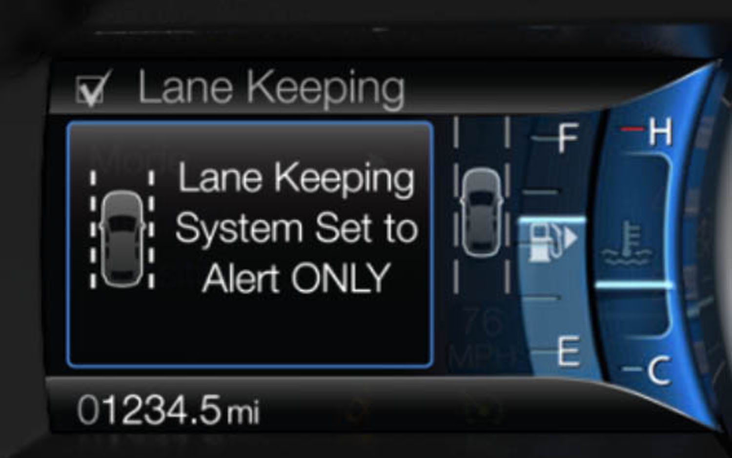 Lane Keeping Assist System >> 2013 Ford Fusion To Get Ford S New Lane Keeping System