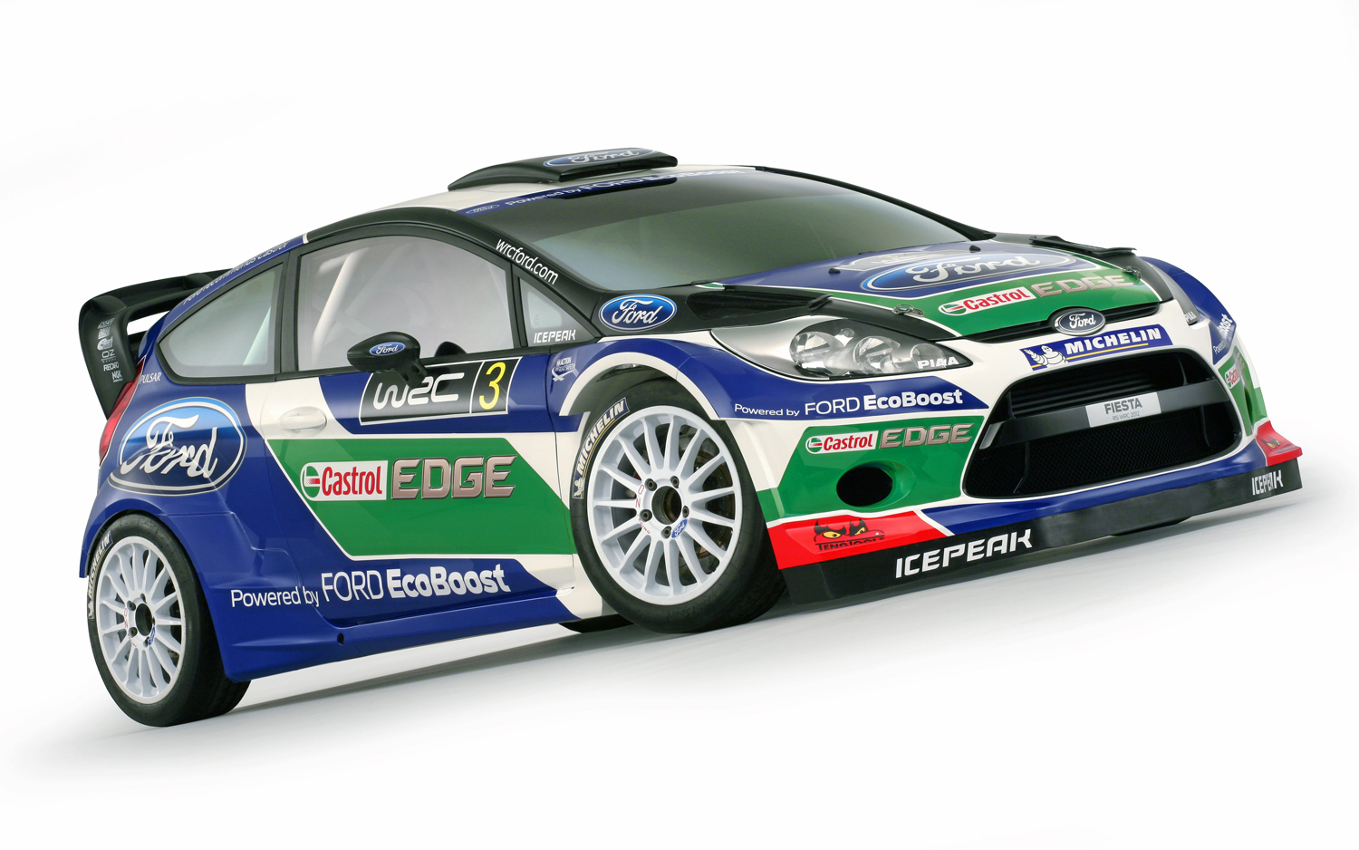 Ford Announces Livery, Drivers for 2012 Fiesta RS Rally Car - Motor ...