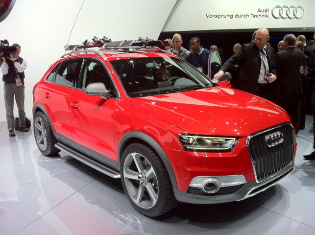 2012 Detroit Audi Q3 Vail Concept A4 And A4 Allroad A5s5 And Rs5