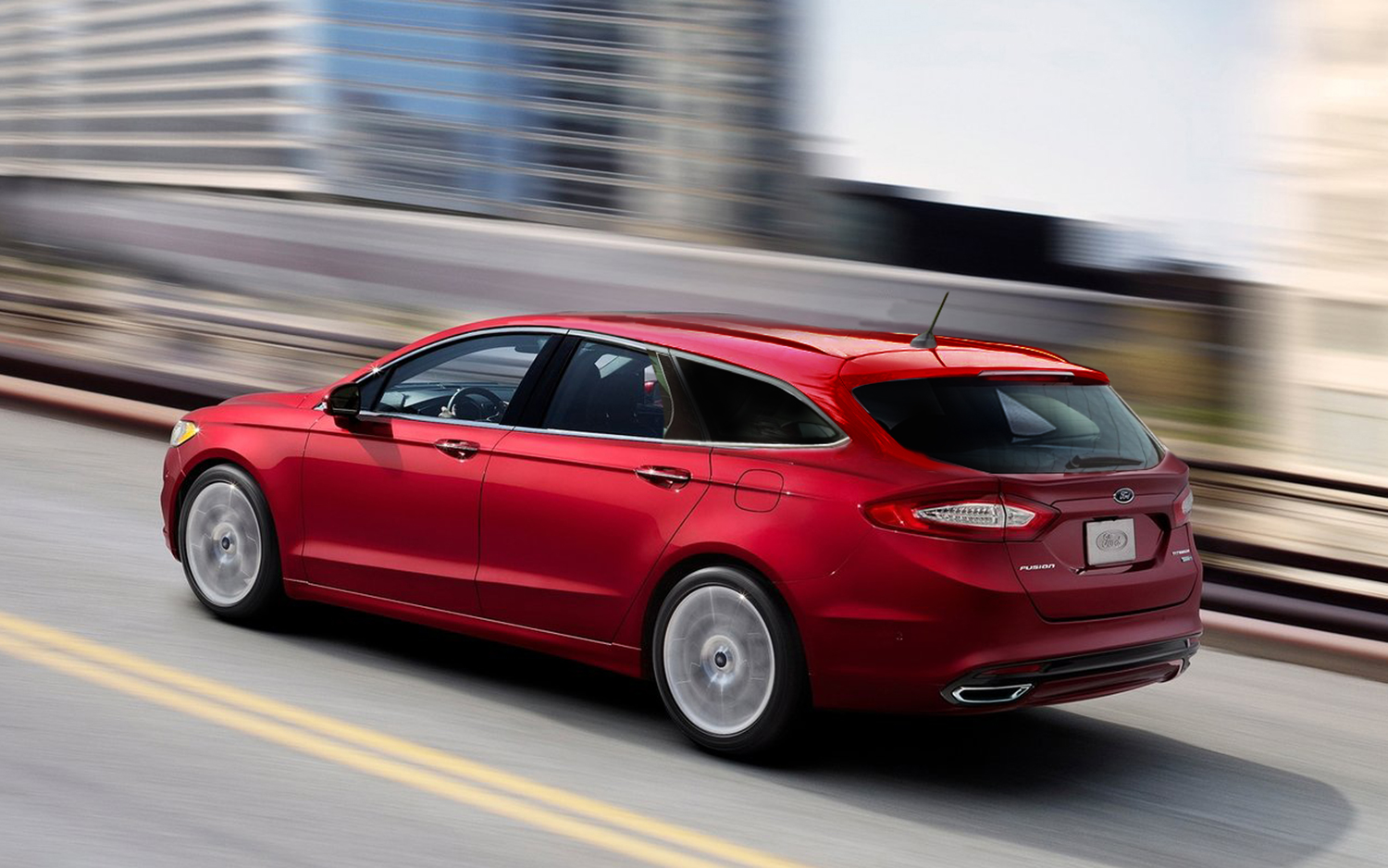 Ford Fusion St >> Daydreaming Ford Fusion St Hatch And Wagon Motor Trend