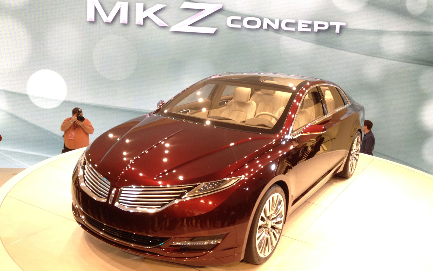2012 Detroit: Lincoln MKZ Concept is Latest Brand-Changing Car ...