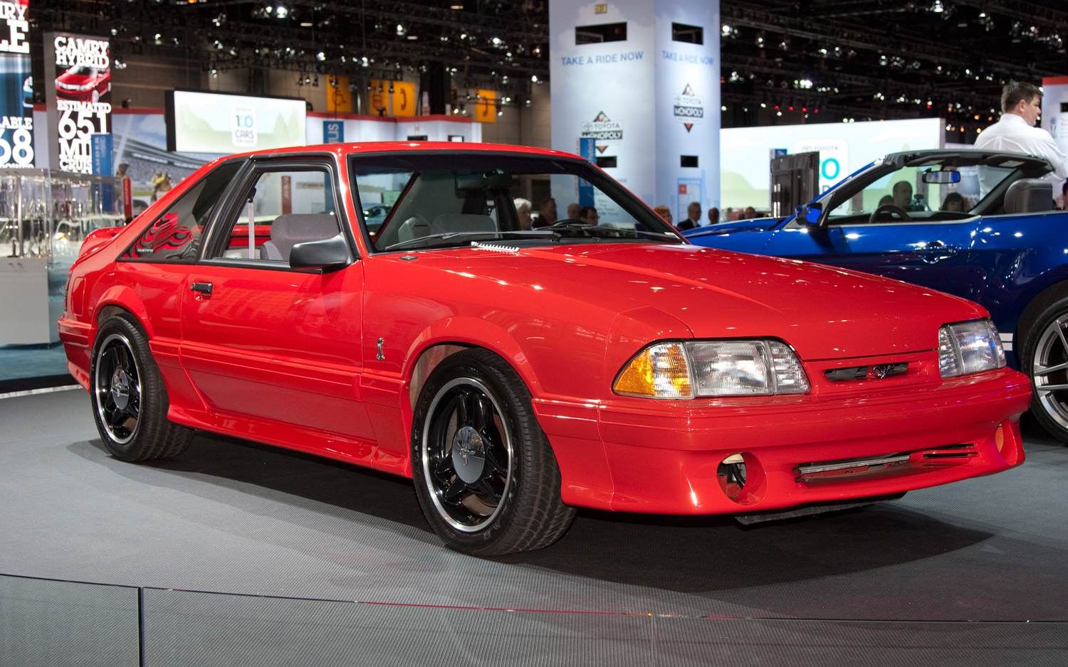 2012 chicago going old school with 1993 ford mustang cobra r