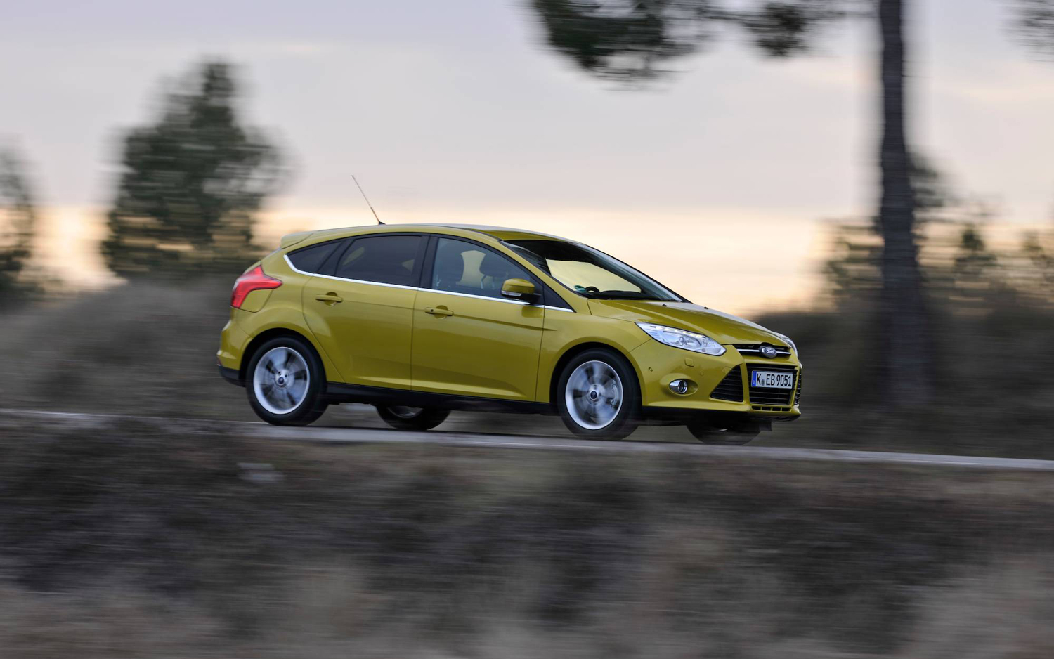 2012 Ford Focus 1.0 EcoBoost European Spec First Drive