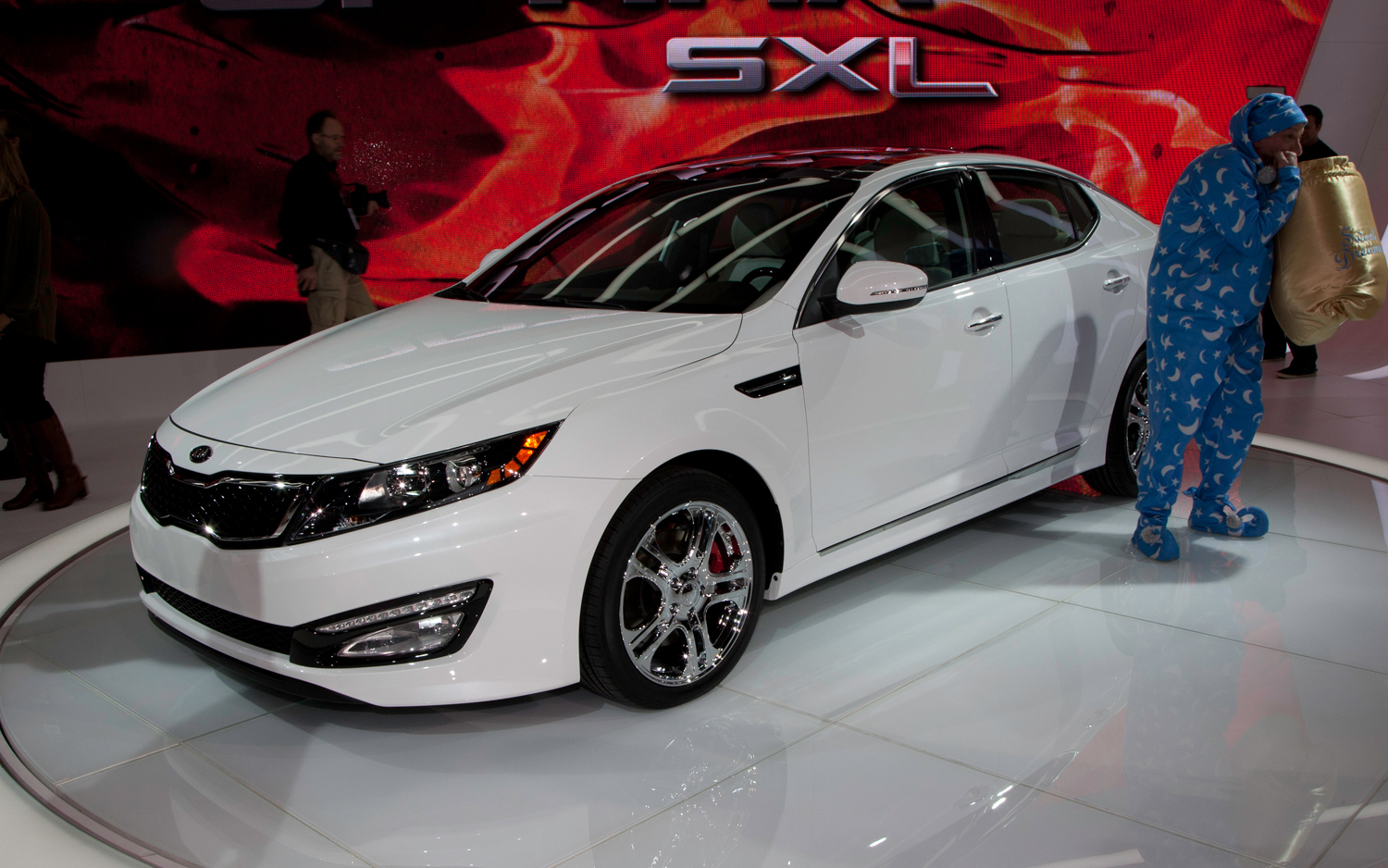 Charming 2012 Kia Optima Limited