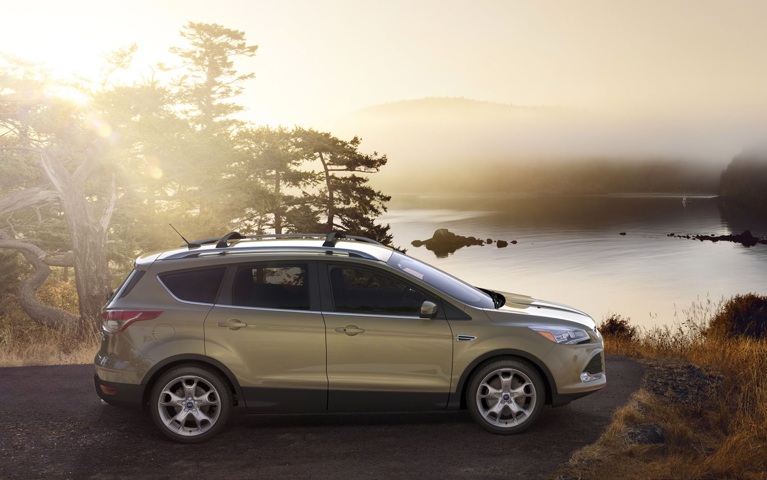Ford Escape Showcases Intelligent All Wheel Drive System