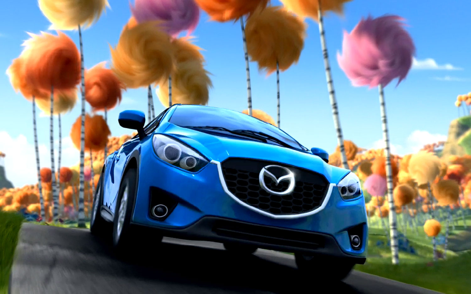Mazda Cx 5 To Star In Dr Seuss The Lorax Themed Commercials