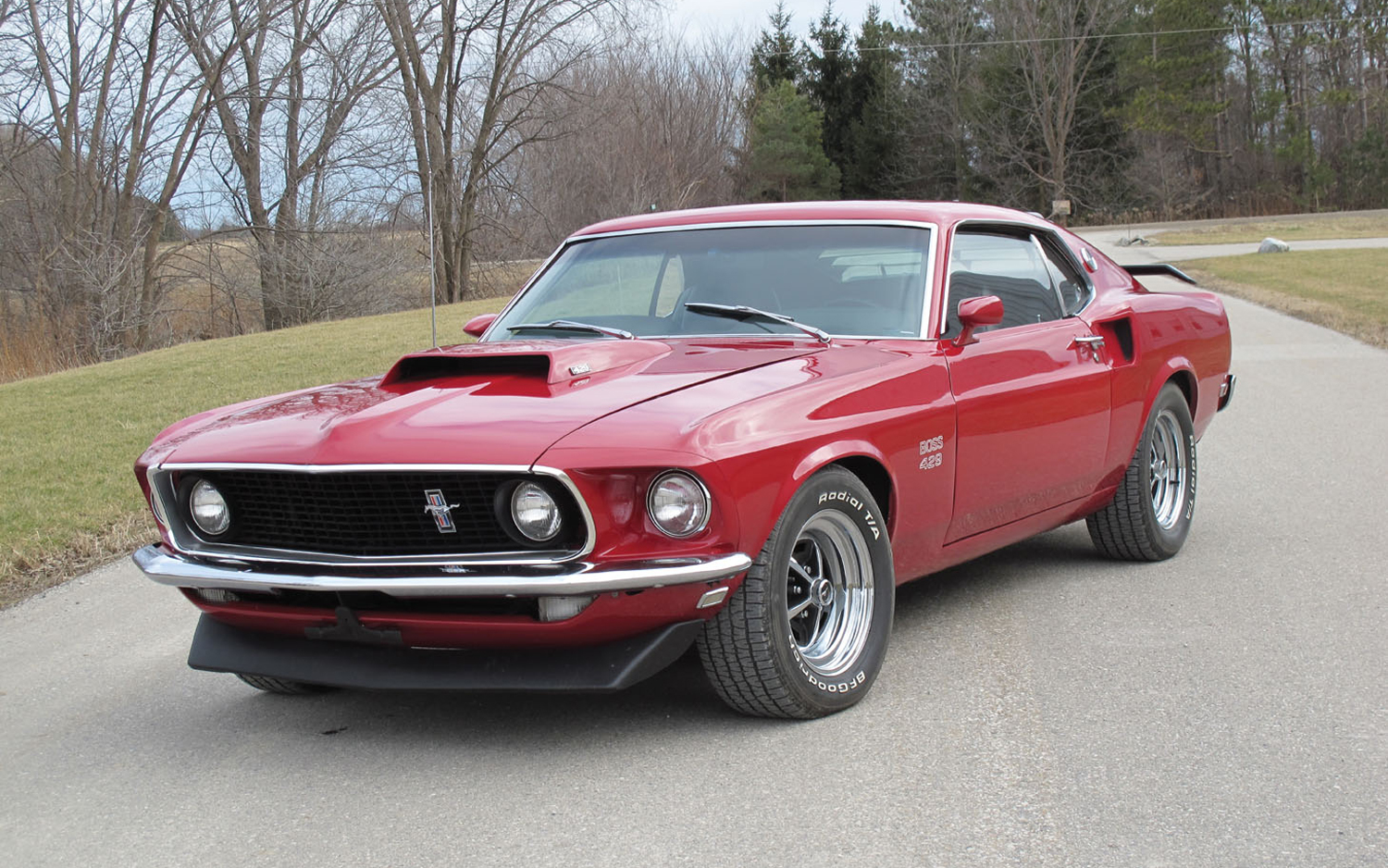 Jacques villeneuves 1969 ford mustang boss 429 other rare cars headline auction