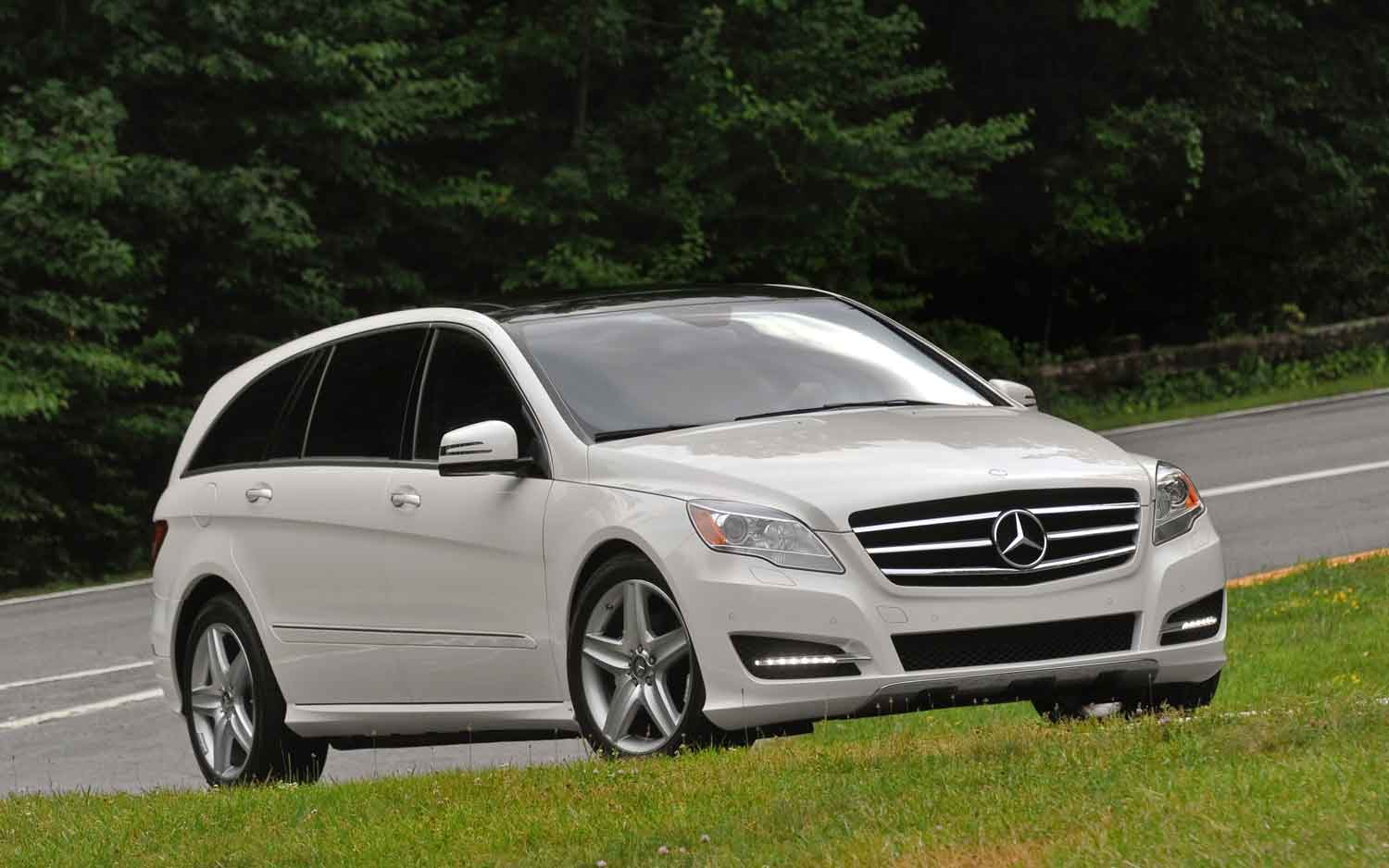 Delightful MT Then And Now: 2006 2012 Mercedes Benz R Class