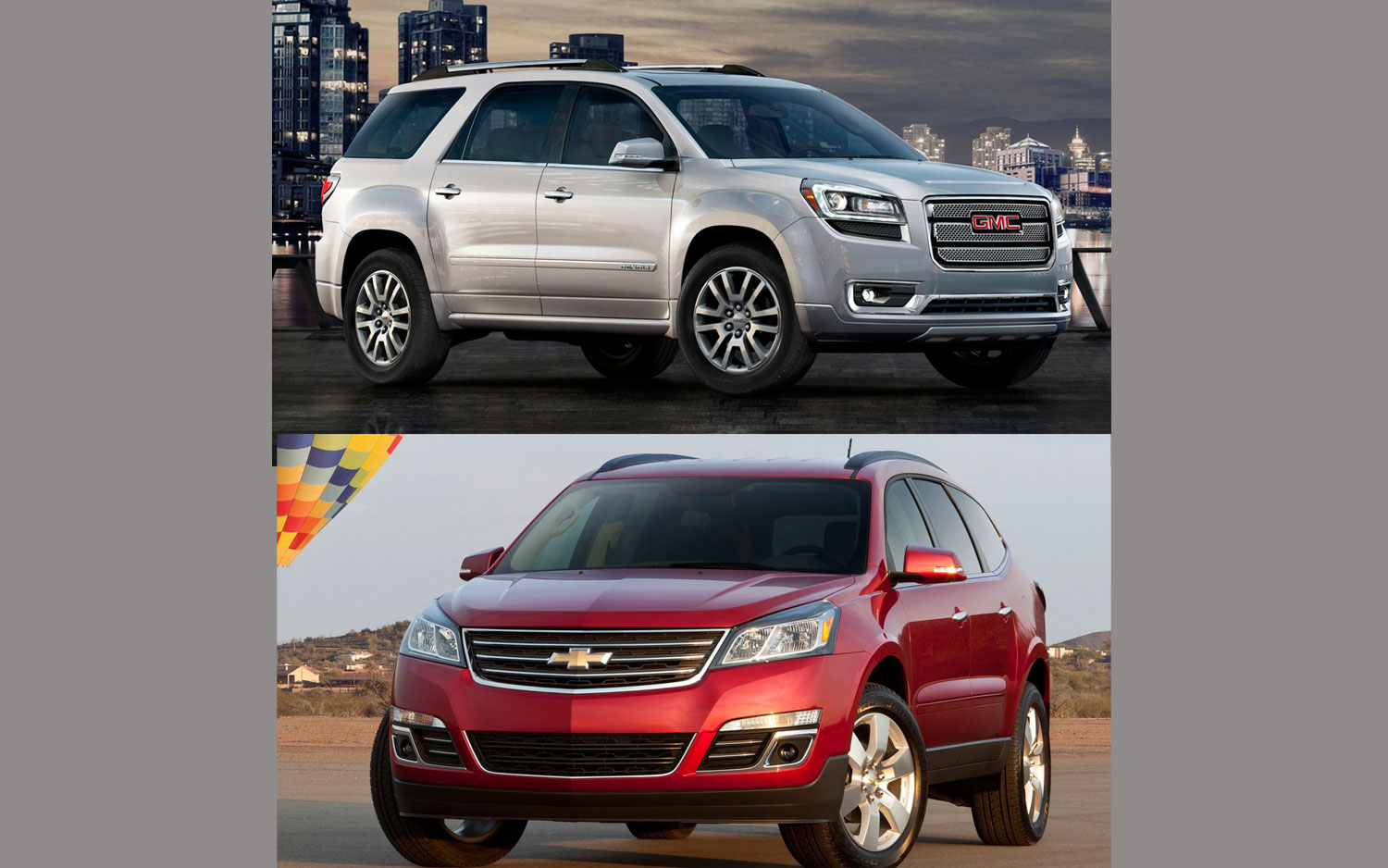 Traverse Vs Acadia >> Wot Would You Pick 2013 Chevy Traverse Or 2013 Gmc Acadia Motor
